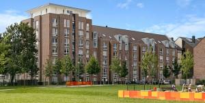 Wohnbebauung in Düsseldorf-Oberbilk, Sonnenstraße 88 – 118 & 99 – 105