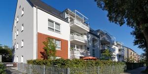 Wohnhäuser in Düsseldorf-Hassels, Gnesenerstraße 23 – 25