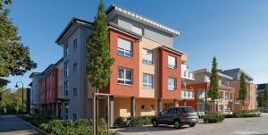 Seniorenwohnanlage mit Betreuungsstation in Düsseldorf-Gerresheim, Ursula-Trabalski-Straße 40