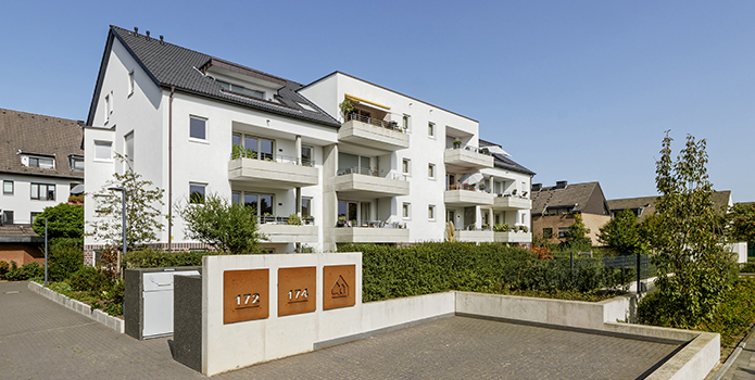 Wohnhäuser in Monheim-Baumberg